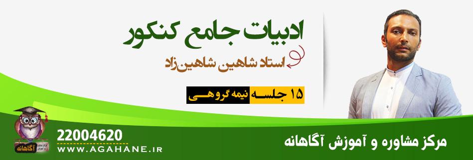 زبان و ادبیات فارسی - کنکور 99 - استاد شاهین زاد